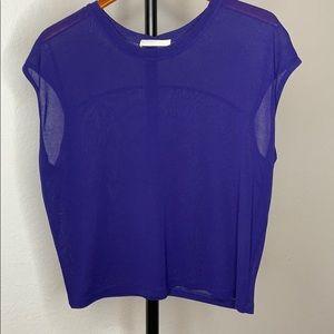 T-shirt blouse M blue